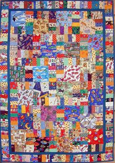 i spy quilt pattern | Flickr: Discussing I-Spy Quilt Patterns in ELQ I Spy Charm Swap