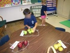 more apple activity ideas...