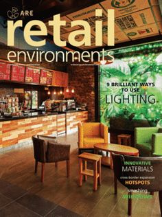 """Retail Environments Magazine May/June 2014: """"Brilliant Ways to Use Lighting"""" features The Flagship Store at New Meadowlands Stadium  