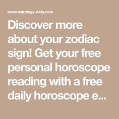 Discover more about your zodiac sign! Get your free personal horoscope reading with a free daily horoscope email. Learn more about your zodiac traits and love compatibility. Libra Horoscope Today, Horoscope Free, Free Daily Horoscopes, Zodiac Signs Horoscope, Scorpio, Aquarius, Relationship Compatibility, Love Compatibility, Unhappy Marriage Quotes