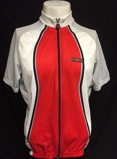 Hincapie Red White Black Large Professional Cycling Jersey #Hincapie