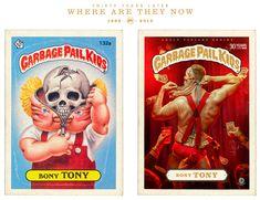 Garbage Pail Kids 30 Years Later Make the Wait Worthwhile -  #BrutonStroube #garbagepailkids #retro