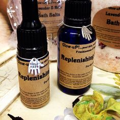 Replenishing facial oil with Rose hip seed oil by Glowupbeautycare