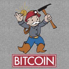 'Bitcoin ' T-Shirt by Illestraider Bitcoin Value, Buy Bitcoin, Bitcoin Price, Make Easy Money, Need Money, Bitcoin Currency, Tatiana Maslany, Satoshi Nakamoto, Crypto Bitcoin