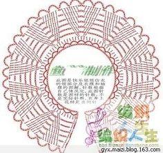 Crochet Collar Chart