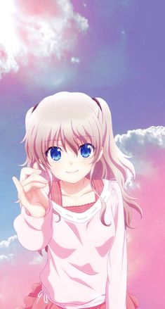 image by Discover all images by Manga Kawaii, Loli Kawaii, Manga Anime Girl, Cool Anime Girl, Anime Girl Drawings, Kawaii Anime Girl, Otaku Anime, Charlotte Wallpaper, Fan Art Anime