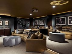 A Showcase Of Really Cool Theatre Room Designs 8