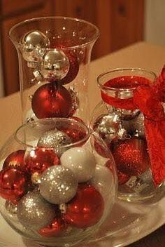 Cheap and Easy DIY Christmas Centerpiece Ideas Christmas Centerpieces, Ideas and DIY! Dollar Tree Christmas CenterpieceChristmas Centerpieces, Ideas and DIY! Dollar Tree Christmas, Noel Christmas, Winter Christmas, All Things Christmas, Christmas Ornaments, Christmas Ideas, Homemade Christmas, Christmas Music, Red And Gold Christmas Tree