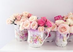 Roses in China | Shabby Roses blogged at www.suchprettything… | Flickr - Photo Sharing!
