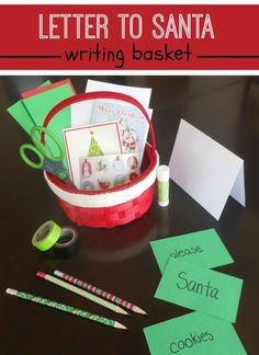 122 best letters to santa images on pinterest christmas activities a mom with a lesson plan what a great idea si spiritdancerdesigns