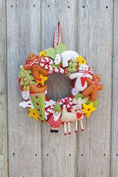 Christmas Wreath Mandy Shaw