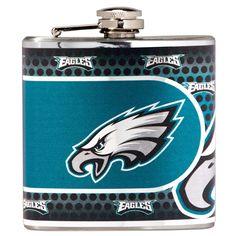 Philadelphia Eagles Stainless Steel Flask