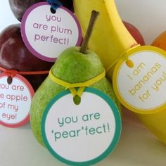 back to school lunchbox fruit notes or great  teacher gifts! < love these! #backtoschool