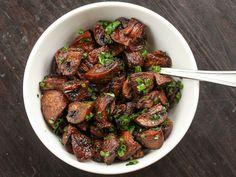 Easy Roasted Mushrooms Recipe