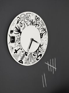 that nordic feeling // Olle Eksell for IKEA Nordic Interior, Best Interior, Wall Clock Ikea, Olle Eksell, Nursery Nook, Wellness Club, Doodle Inspiration, Decoration, Scandinavian