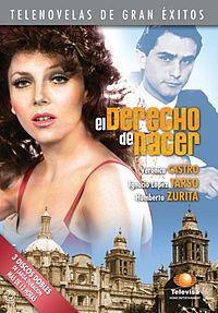 """Veronica Castro,Salvador Pineda & Humberto Zurita en el """"Derecho de Nacer"""" (1978)"""