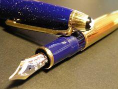 Montblanc Meisterstuck, Le Grand, Ramses ll, Lapis, Fountain Pen / Vintage! |