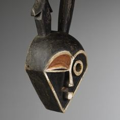 Eastern « Pende » mask from Congo ex: Belgian's collection | Virtual Tribal and Textile Art Shows French Collection, Congo, African Art, Textile Art, Art Gallery, Statue, Antiques, Antiquities, Art Museum