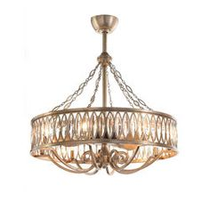 john richard 8 light diamante chandelier products