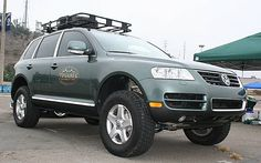 Image result for 2007 touareg with big wheels