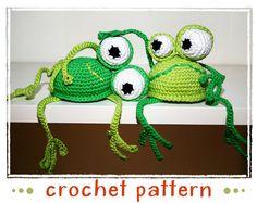 Frog - Shelf Sitter - Crochet Pattern