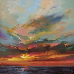 Mary Maxam - paintings: Setting Over Water
