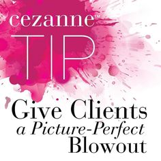 #Tip: After youve rinsed the #Cezanne treatment do a meticulous blow-dry on medium heat with high airflow. For more tips visit our website. Link in bio