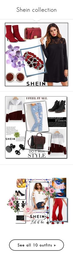 """""""Shein collection"""" by azrahadzic ❤ liked on Polyvore featuring Bobbi Brown Cosmetics, WALL, 7 For All Mankind, Katie, Zara, ArtWall, Nikon, Laura Cole, Fountain and Wall Pops!"""