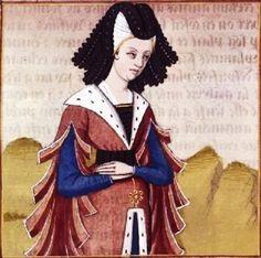 View album on Yandex. Moda Medieval, Medieval Hats, Medieval World, Medieval Costume, Medieval Dress, Medieval Fashion, 15th Century Fashion, 15th Century Clothing, Renaissance Time