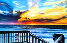 Yesterday's sunset in Carlsbad