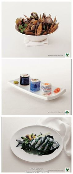 Creative environment protection ads. Do you want to eat polluted food like this?