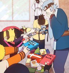 Boruto: Naruto Next Generations / Mitsuki Anime Naruto, Inojin, Shikadai, Naruto Sasuke Sakura, Naruto Comic, Naruto Cute, Naruto Shippuden Sasuke, Gaara, Haikyuu Anime