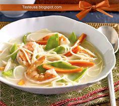 asian shrimp and coconut soup recipe