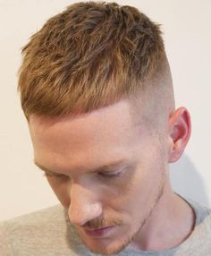 Men's Short Undercut Haircut