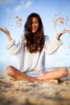 With arms outstretched I thank. With heart beating gratefully I love. With body in health I jump for joy. With spirit full I live. ~Terri Guillemets