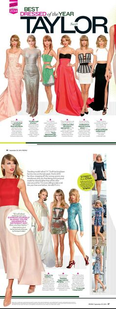 People Magazine scans! taylorswift was nominated Best Dressed of The Year! This issue is out now so be sure to grab a copy!