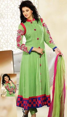 Latest Pakistani Designer Clothes Pakistani Dresses Green