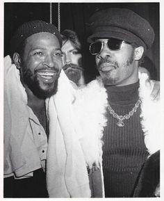 Marvin Gaye & Stevie Wonder