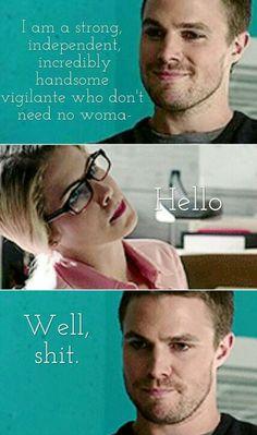 Oliver x Felicity #arrow #Olicity