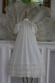 Rosemary Cathcart Antique Lace and Vintage Fashion: Antique Christening Gowns For Sale