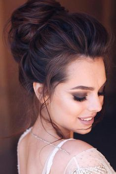 Public hair styles 51 sophisticated prom hair updos in 2018 hair High Bun Hairstyles, Formal Hairstyles For Long Hair, Evening Hairstyles, Trendy Hairstyles, Wedding Hairstyles, Slimming World, Grease, Prom Hair Updo, Short Wedding Hair