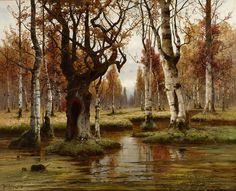 All sizes   Julius Sergius von Klever - Birch Forest [1883]   Flickr - Photo Sharing!