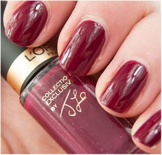 JLo's Delicate Rose Loreal, Delicate, Nail Polish, Rose, Nails, Color, Beauty, Beleza, Ongles