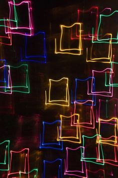 blurred neon #brightlightsbigcity #millyny