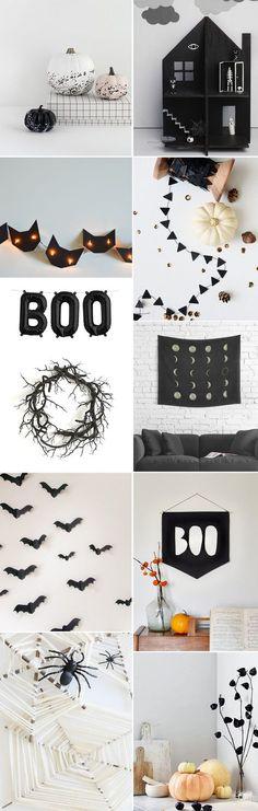 Minimal fun Halloween decor | DIY Halloween decor | 100 Layer Cakelet