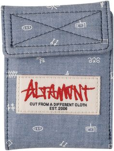 Altamont · Apparel · Fashion · Noncents · Indigo · Bag · Skate · Trend · Holiday