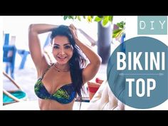 Como Hacer: Bikini Top de Banda (Bandeau Top) - YouTube Bikini Bandeau, Bikini Tops, Bikinis, Swimwear, Pdf Sewing Patterns, Slow Fashion, Diy Tutorial, Corset, 1