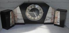 Online veilinghuis Catawiki: Art Deco klokkenstel met zijstukken