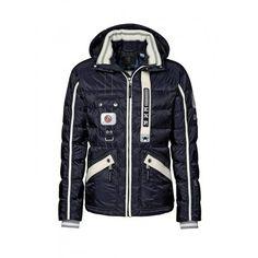 Bogner Pian D Mens Ski Jacket in Navy