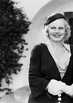 Jean Harlow in the early 1930s.